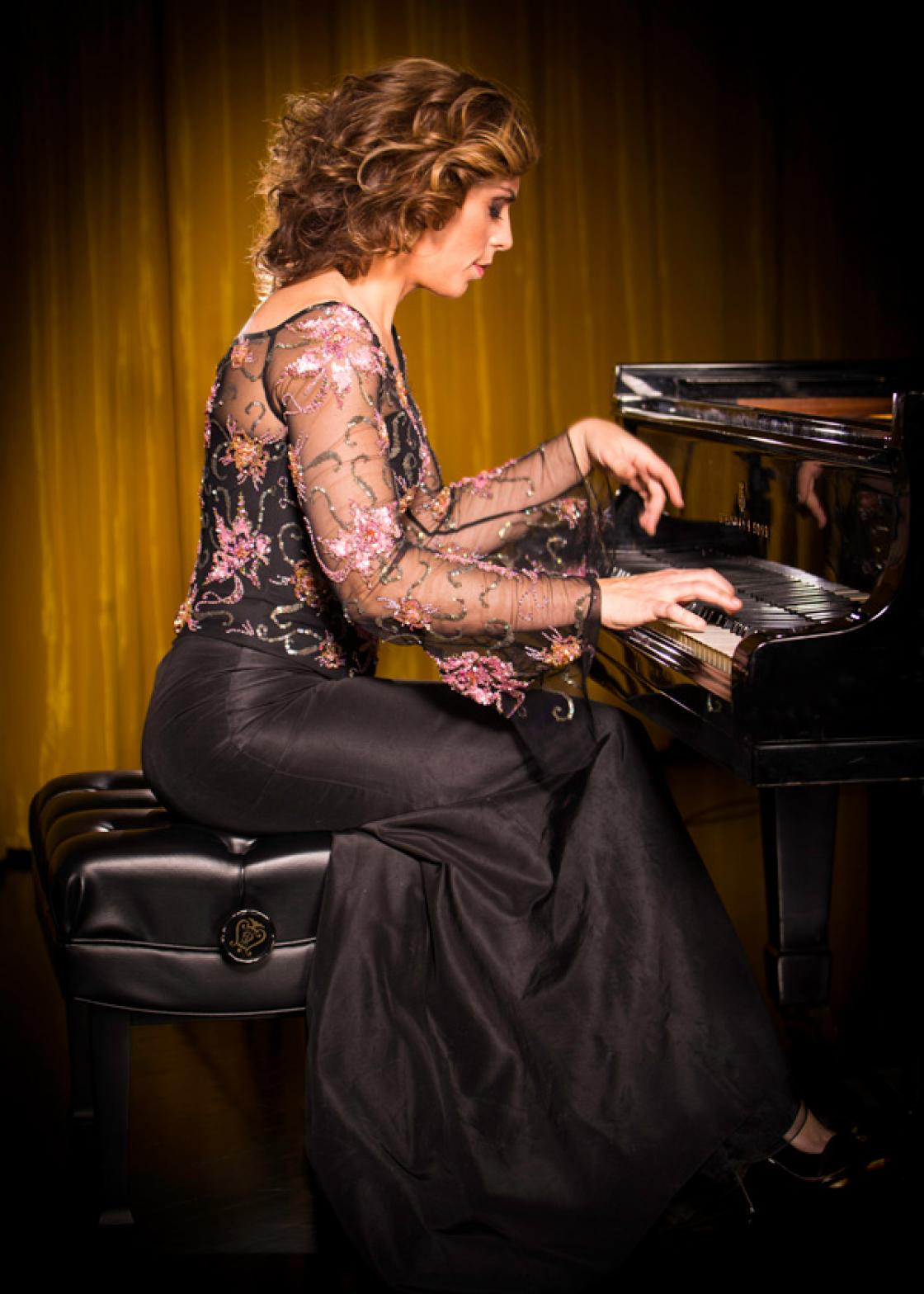Photograph of pianist Ani Gogova