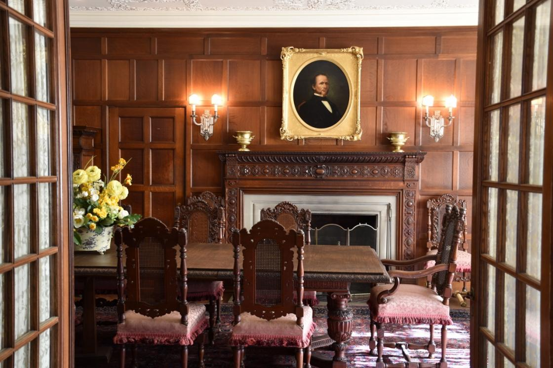 Photograph of the Cranbrook House Dining Room