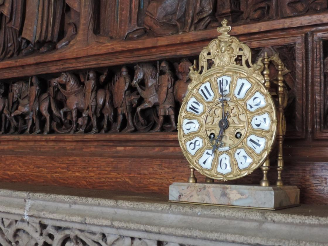 Cranbrook House Library Clock