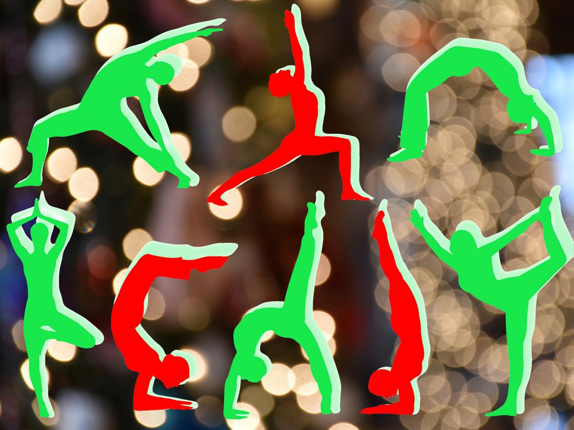 Holiday Splendor at Cranbrook House - Yoga Graphic